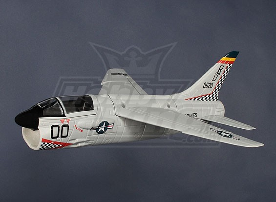 Mini F-8 Crusader EDF Jet Fighter OEB (PNF)
