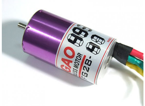 Brushless Motor Feigao 380S Taille 8Turn