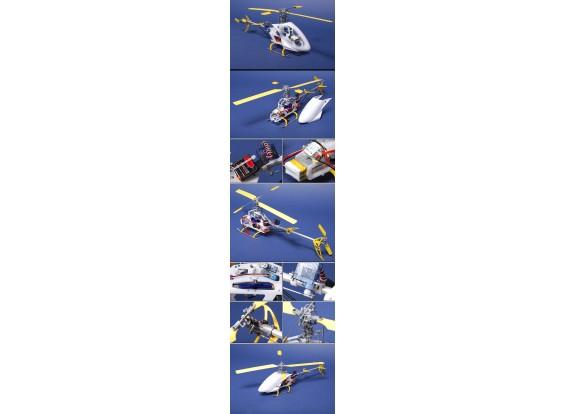 Hélicoptère Fire Fox EP200 Micro 3D