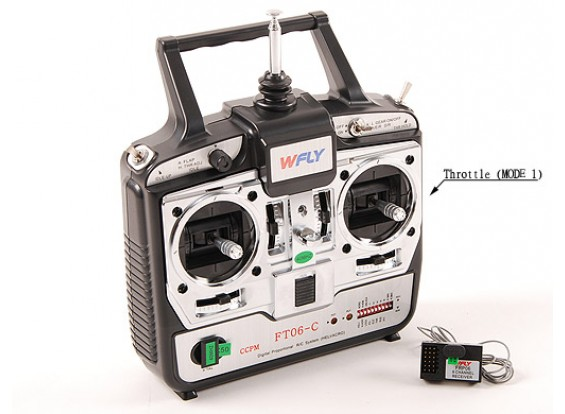 Flight System WFLY 6Ch (Mode1 40MHz)