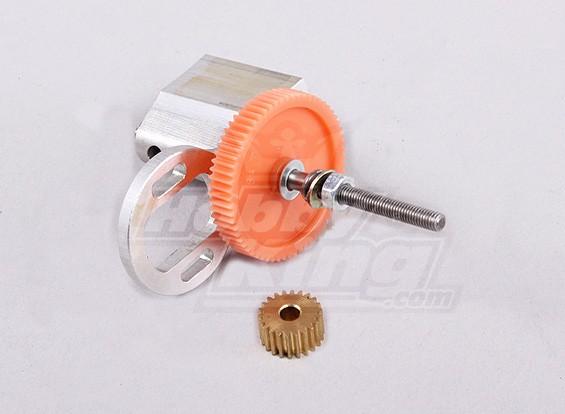 Gear Box 3mm - 22T - 64T