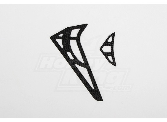 GT450PRO CF horizontal / vertical empennage