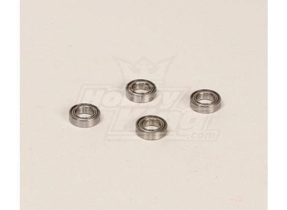 HK600GT roulements à billes Pack (8.9x13.9x4.9mm) 4pcs / bag