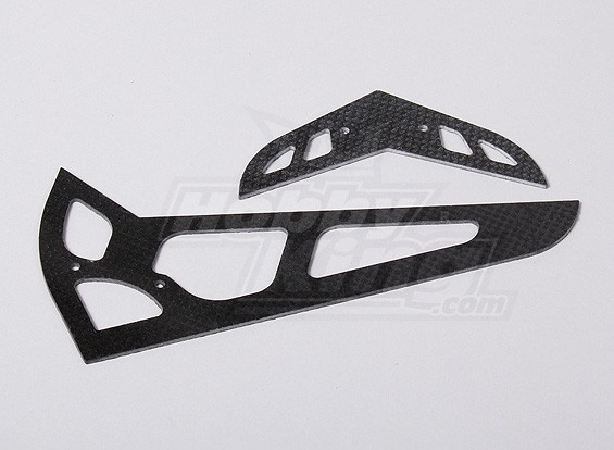 HK600GT CF horizontal / vertical empennage (HN6058)