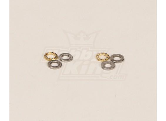 HK600GT Thrust Bearings Pack (5.3x10x4mm) 2pcs / sac