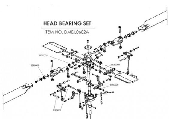Céramique kit de mise à niveau d'appui pour HK-450 (Head)