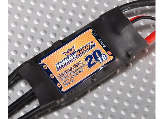HobbyKing SS Series 18-20A ESC