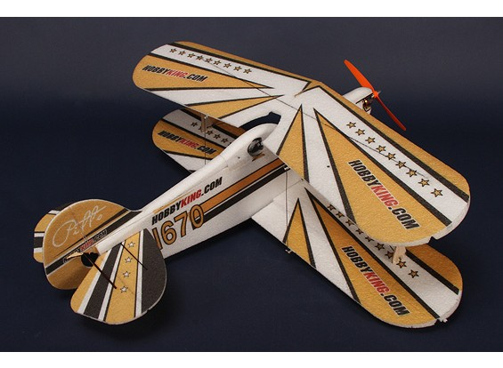 HobbyKing® ™ Pitts PPE-CF w / Brushless outrunner