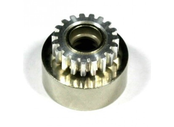 Alloy 7075 embrayage engrenage 19T Cloche d'embrayage