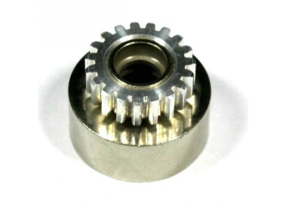 Alloy 7075 embrayage engrenage 20T Cloche d'embrayage