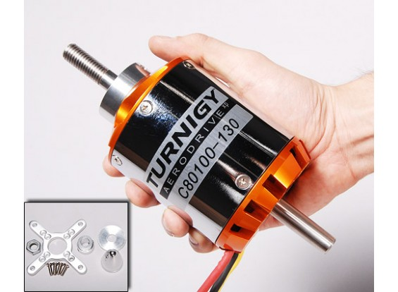 Turnigy 80-100-B 130Kv Brushless Outrunner (eq: 70-55)