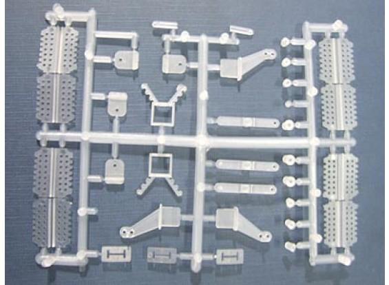 Pièces de plastique 29pc Set (charnière de corne)