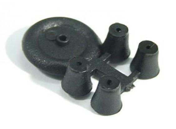 Petite roue pour l'intérieur / ultra léger 11mm Diam (10pcs / bag)