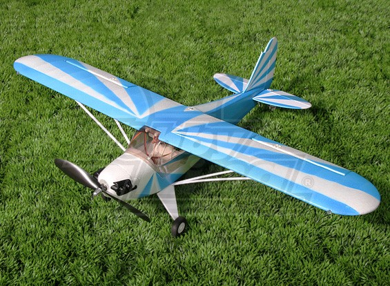 HobbyKing Mini J3 Cub - Bleu (PNF)