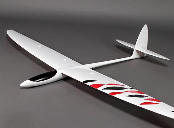 Sunbird entièrement moulé GRP / CF / Kevlar Composite Slope Soarer 1520mm (60 pouces)