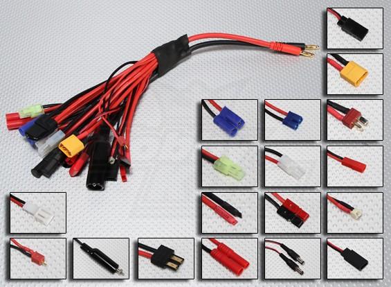 PLUG-KING Multi-19 Charge Plug-Set Adapter Mega