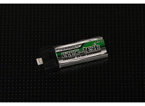 Turnigy nano-tech 130mAh 1S 25 ~ 40C Lipo Pack (Kyosho, Eflite, Parkzone)
