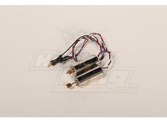 227A Twingo remplacement 7mm brossé Motor Set (2pcs / set)