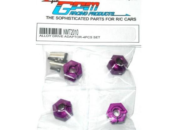 MT2 Alloy Drive adaptateur w / Pins & Vis 4pc Set