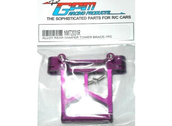 MT2 alliage supports de poste de corps arrière w / vis