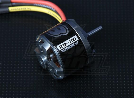 MFO Prop Drive Series 28-26A 1200kv / 286w