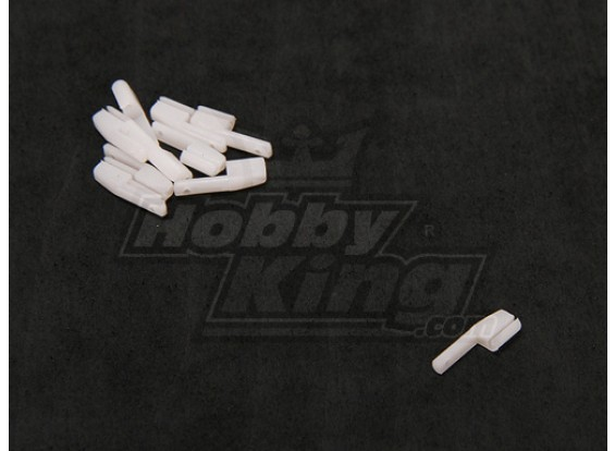 Nylon Stopper 12x4x1.5mm (10pcs / set)