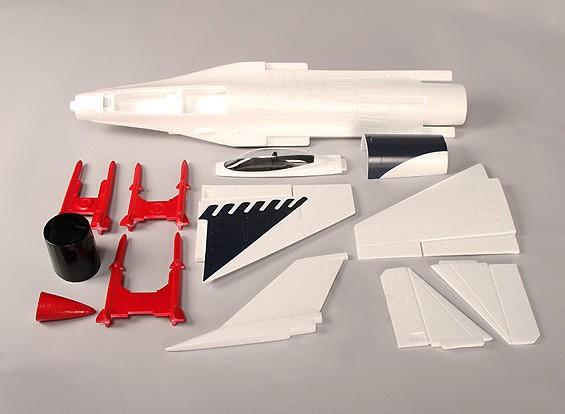 Mini F-16 EDF Fighter Jet ARF Kit uniquement (OEB)