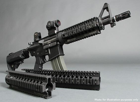 Madbull Daniel Defense 7inch Omega rail (Noir)