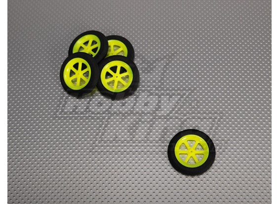 Super Light multi Spoke Wheel D46x9mm (5pcs / bag)
