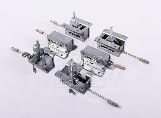Full Metal escamote mécaniques 2 ensembles (6PC)
