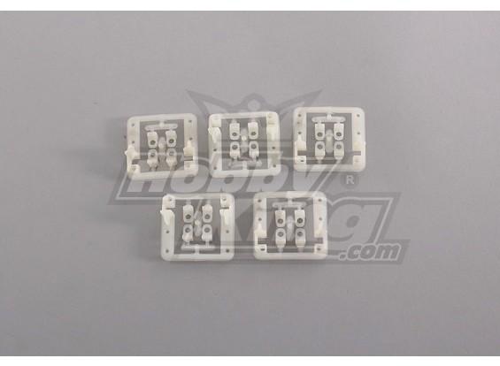 Servo Mont (5pcs / bag) pour Mini Servo 9g, jusqu'à 24mm