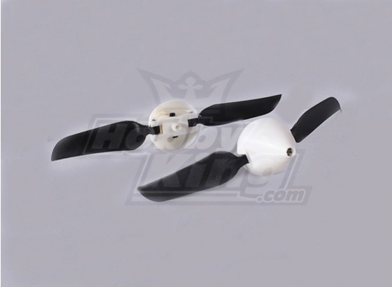 Folding Propeller W / Hub 18mm / 2mm 4.5x3 de l'arbre (2pcs)