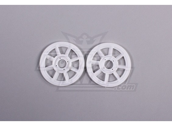 Tarot 450 PRO principal Gear Set (2pcs) - White (TL1219-01)