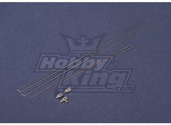 Remplacement Turnigy Mini-Swift Pushrod Set