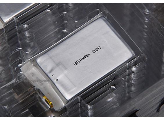 ZIPPY 850mAh 20C cellule unique