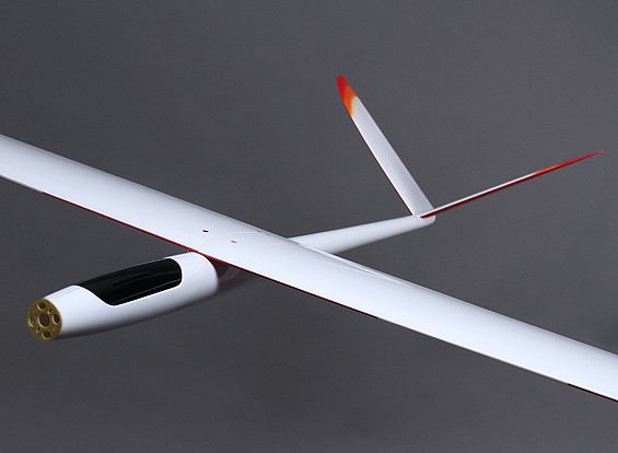 Riot complet Composite High Performance V-Tail Planeur w / Flaps 2000mm (ARF)