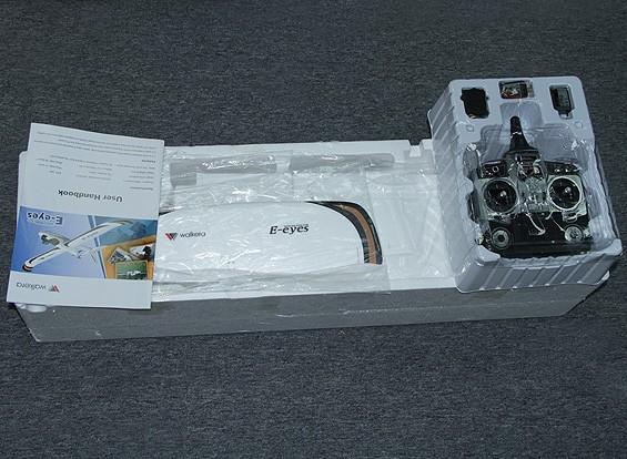 SCRATCH / DENT Walkera E-Eyes FPV Airplane w / Transmetteur F7 DEVO (RTF)