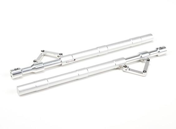SCRATCH / DENT - Alloy droite Oleo Struts avec Trailing Lien 205mm ~ 12.7mm (2pc)