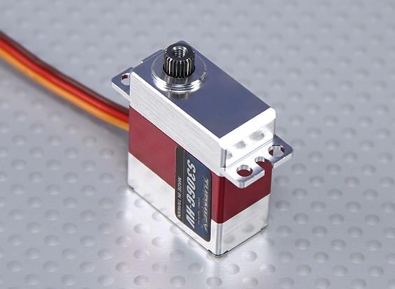 Turnigy ™ GTY-306g-HV Ultra rapide / High Torque DS / MG / Boîtier en alliage HV 3,7 kg / 0.05sec / 21g