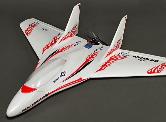 SkyFun Airplane v1.1 w / 2500kv Brushless Motor 875mm EPS (PNF)