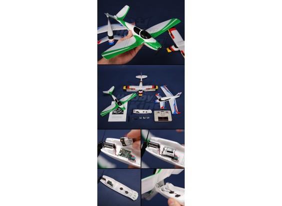 Snap-n-Fly 3 en 1 Micro Avion (Mode 1)