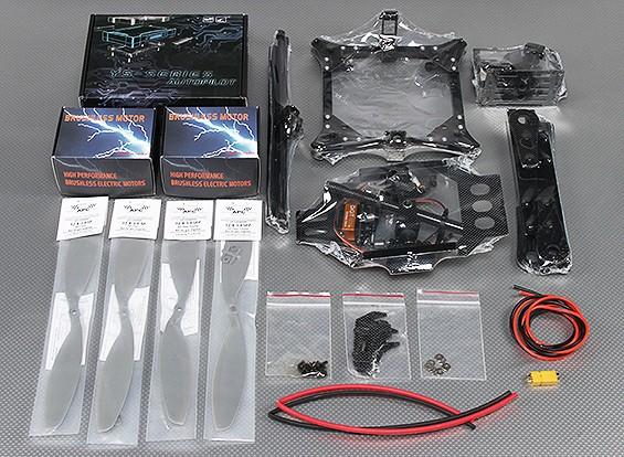 ZeroUAV ZERO-Steadi470 système Photographie Quadcopter aérienne (PNF)