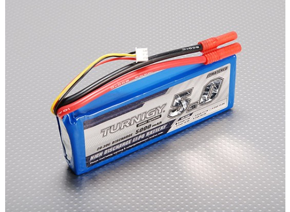 Turnigy 5000mAh 2S 20C Lipo Paquet