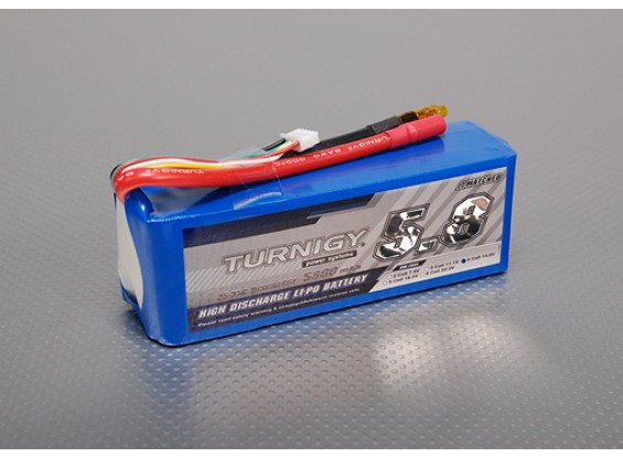Turnigy 5800mAh 4S 25C Lipo Paquet