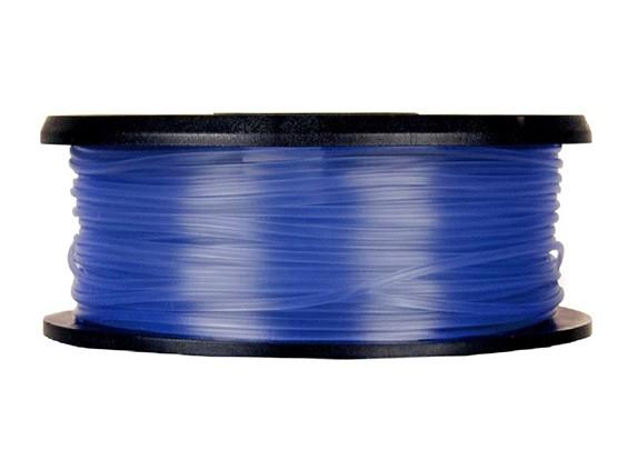 CoLiDo 3D Filament Imprimante 1.75mm PLA 1KG Spool (bleu translucide)