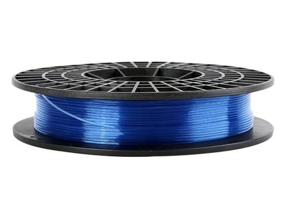 CoLiDo 3D Filament Imprimante 1.75mm PLA 500G Spool (bleu translucide)