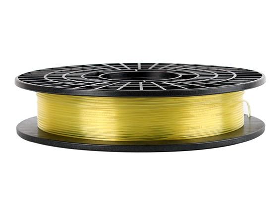 CoLiDo 3D Filament Imprimante 1.75mm PLA 500G Spool (jaune translucide)