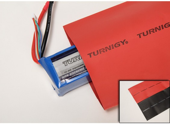 Turnigy thermorétractable Tube 100mm RED (1mtr)