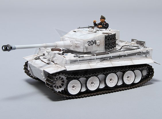 Tiger 1 RTR w / TX / Son / infrarouge