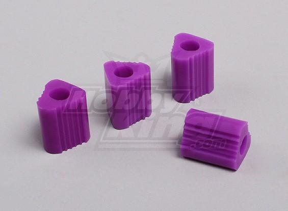 Triangulaire 7mm Heli Landing Pad (Violet)